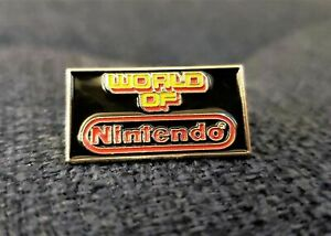 World-of-Nintendo-Enamel-Metal-Lapel-Pin-Promo-Memorabilia-Sign-Collectible