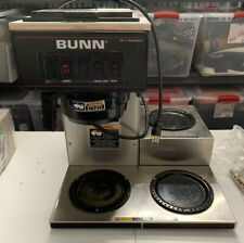 Bunn Vp17 3 Commercial Restaurant Pour Over Coffee Maker Brewer 3 Warmers