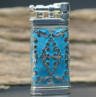 Sillem´s Im Corona Old Boy Linea Azur 925 Sterling-silber Pfeifen Feuerzeug