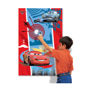 Image Is Loading DISNEY CARS 2 LIGHTNING MCQUEEN BIRTHDAY PARTY GAME