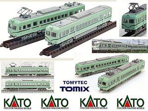 KATO-by-TOMYTEC-BIGORNEAUX-LOCOMOTIVE-REGIONALE-PUBLIC-STATIC-ma-MOTORISE