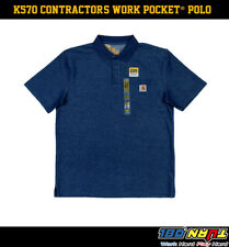 c0980891 item 1 CARHARTT CONTRACTOR'S WORK POCKET® POLO K570 -CARHARTT CONTRACTOR'S  WORK POCKET® POLO K570