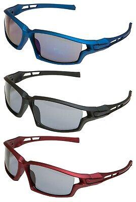 SPORTSPEX XLarge Wraparound Frame Cycling Sports Tinted /& Smoke Sunglasses