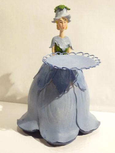 Objet de collection  figur - fleur - veilleuse - campanule Blau