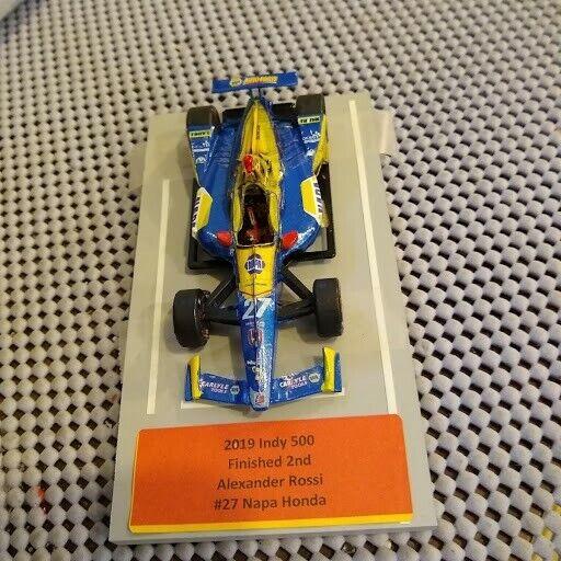 1 43 2019 Alexander Rossi  27 NAPA  Dallara Honda