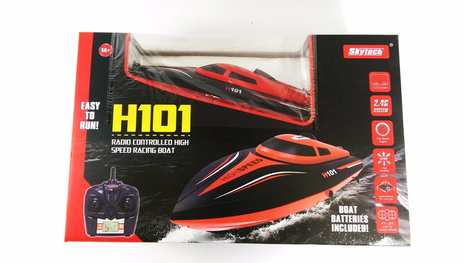 Skytech Babrit Tempo 1 2.4GHz HIGH SPEED RADIO CONTROL WATER COOLED RACING MODEL