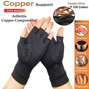 Arthritis-Fit-Compression-Gloves-Hand-Support-Arthritic-Joint-Pain-Relief