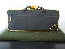 New Conn-Selmer Prelude alto sax case, with shoulder strap.