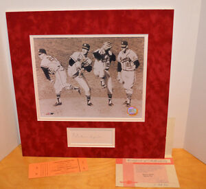 WARREN-SPAHN-SIGNED-AUTOGRAPHED-PHOTO-COA-MLB-BASEBALL-SPORTS-COLLECTIBLE-CARDS