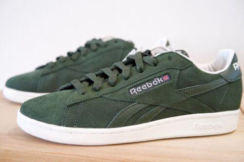Reebok Classic NPC UK OS Mens Trainers Shoes Sizes UK 7-10 Green P47