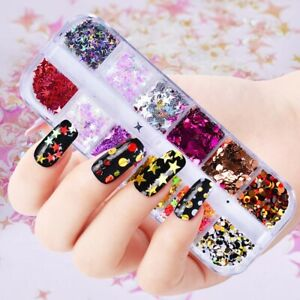 Shiny-Manicure-Art-Decor-Nail-Sequins-Star-Shaped-Stickers-3D-Glitter-Flakes