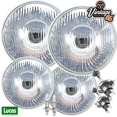 "Reliant Scimitar 7/"" Main 5 /& 3//4/"" Sealed Beam Halogen Headlight Conversion Kit"