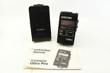 Gossen Ultra-Pro Light Meter Made in Germany with Manual Case #1