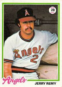 trading card Topps ANGELS  1978 JERRY REMY #478