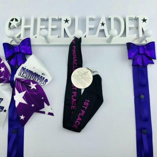 Medal display Cheerleader Medal Holder Sports medals rack Cheerleading gift