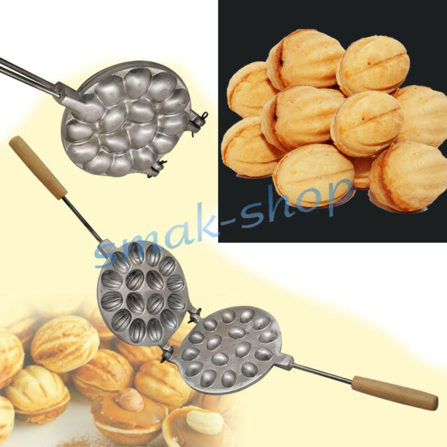 Oreshki Russian Mold Sweet Metal Nutlets Nuts Cookie Pastry Oreshnitsa 12 and 16