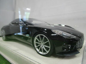 Aston Martin One 77 Noir Goodwood O 1/18 Techno Model T18m1085 Voiture Miniature