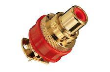 2 x wbt-0201 Classic cinchbuchse dorado RCA female Plug oro plated