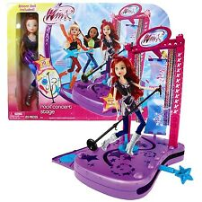 NEW  Winx Club Rock Concert Stage with Doll Play set