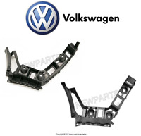 Vw Golf Gti 10-14 Pair Set Of Rear Left And Right Bumper Cover Guides Oes on Sale