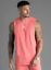 Gym-King-Mens-Designer-Longline-Casual-Vest-Tank-Top-T-Shirt-Tee-Sports thumbnail 5