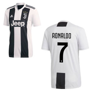 ba020ce50 Adidas Football Juventus FC Mens Kids Home Jersey Shirt Ronaldo 7 ...