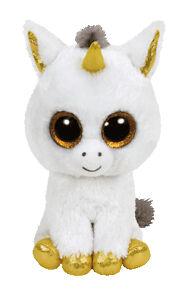 Ty Beanie Boos 37059 Pegasus The Unicorn Large Boo 6748c1051d5a