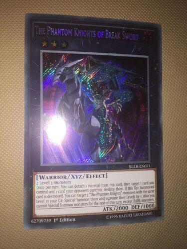 BLLR-EN071 The Phantom Knights of Break Sword Secret Rare 1st Edition