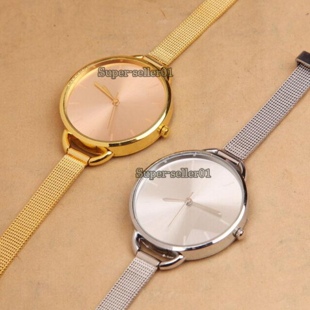 2017 Luxury Watch Fashion Stainless Quartz Wrist Watches Girls Gift Analog Women