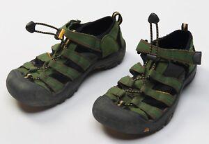 f497fb92c Details about KEEN Kid s Children s Boy s Sandals Shoes Waterproof WP Size  Sz US4 US 4 Green