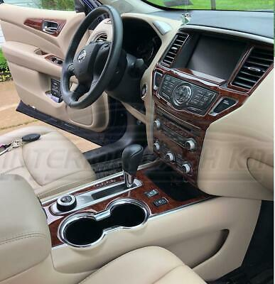 2017 2018 2019 interior wood dash trim kit set for nissan pathfinder s sl sv ebay 2017 2018 2019 interior wood dash trim kit set for nissan pathfinder s sl sv ebay