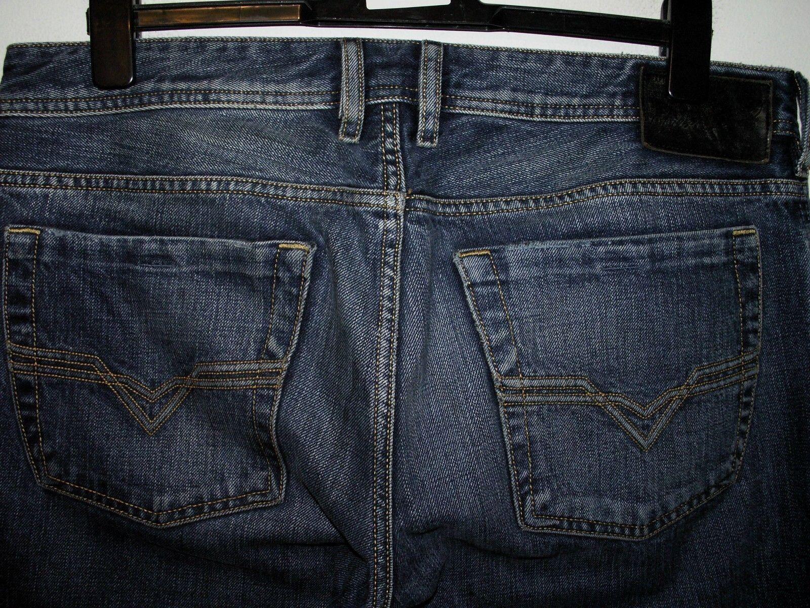 DIESEL ZATINY StiefelCUT JEANS 008FA W33 L34 (5710)    Der neueste Stil    Qualität    Preisreduktion