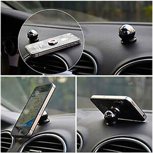 check out 67a13 89e8a Details about Rotating 360° Magnetic Car Dashboard Mount Hands Free Phone  Holder For iPhone 6