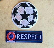 Patch toppa calcio respect pallone champions