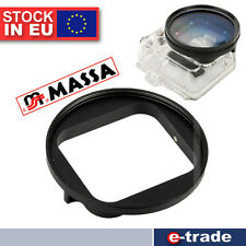 MASSA GoPro Hero 3 Filter-Adapter für: 58mm UV-, Pol-, Divefilter und ND Fader