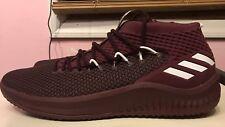 buy online 5e404 172b6 Adidas Dame 4 NBA Mens Size 17 Damian Lillard Basketball Shoes Maroon  Sneakers