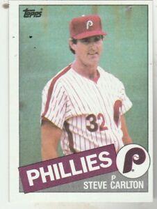 FREE-SHIPPING-MINT-1985-Topps-360-Steve-Carlton-Phillies-PLUS-BONUS-CARDS