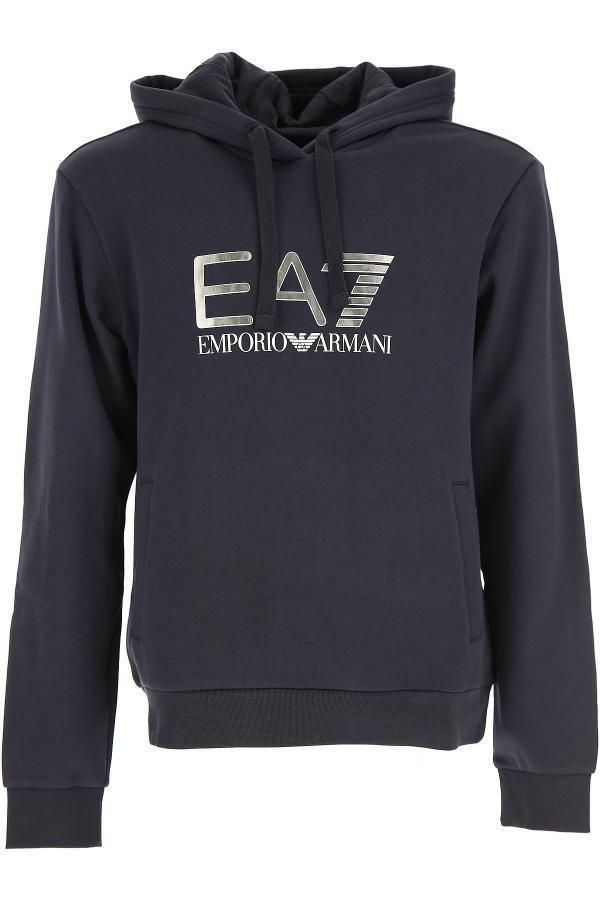 Ea7 EMPORIO ARMANI BLU 6 CON CAPPUCCIO MOD. 6 BLU ypmc 7/pj07z 146c10