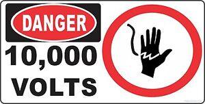JURASSIC-PARK-MOVIE-PROP-T-REX-PADDOCK-10000-VOLTS-DANGER-SIGN-replica-10