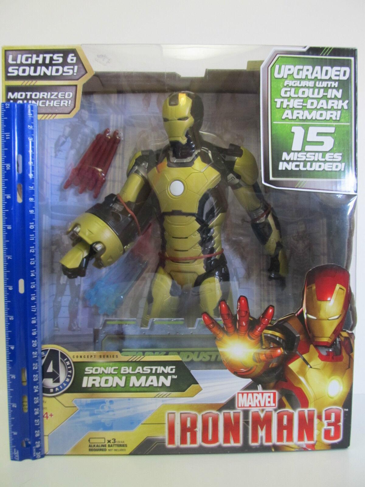 Marvel - iron man 3 hochgestuft bei action - figur im dunkeln leuchten.