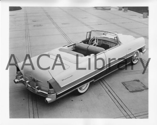 Factory Photo 1955 Packard Caribbean Convertible Coupe Ref. #62132