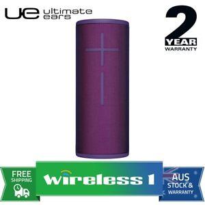 UE Ultimate Ears BOOM 3 Wireless Bluetooth Speakers Ultraviolet Purple