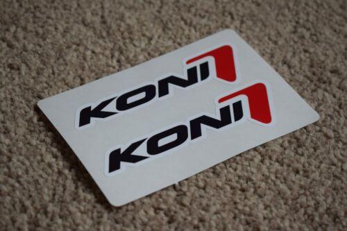 Koni Classic Sport Racing Rally Motorsport Race Car Calcomanías Pegatinas 100mm
