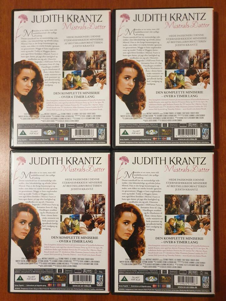 Mistrals Datter (Box-set med 4 Discs), instruktør Kevin