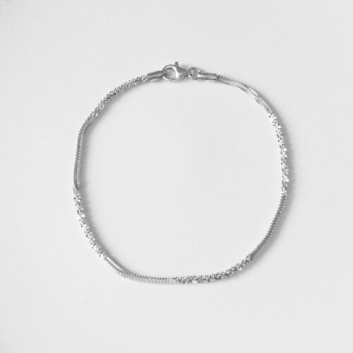 925 Sterling Silver margarita bracelet 7.5 inches