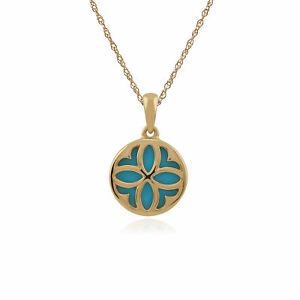 Gemondo-9ct-Yellow-Gold-1-50ct-Turquoise-Pendant-on-45cm-Chain