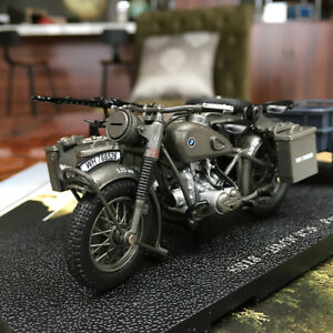 Details about New Atlas 1/24 Motorcycle SS18-BMW R75 Panzerfaust 30 model  World War II Germany