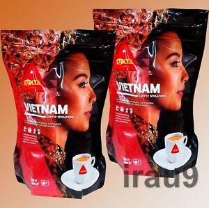 Vietnam Ground Coffee Delta Portuguese Full - Bodied Drink, 2x 220g Intensity 8