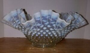 Fenton-Clear-French-Opalescent-Hobnail-Double-Crimped-11-034-1940-1955