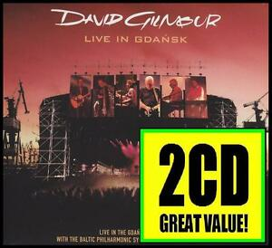 DAVID-GILMOUR-2-CD-LIVE-IN-GDANSK-PINK-FLOYD-WISH-YOU-WERE-HERE-NEW